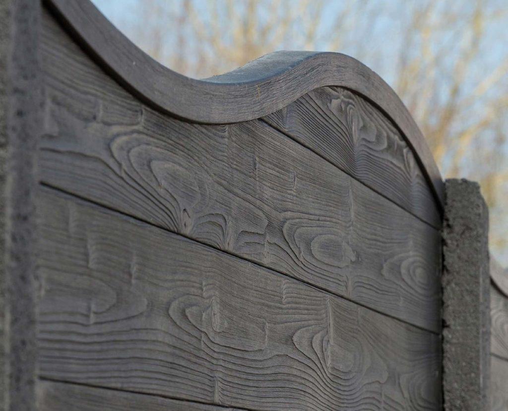 FG HABITAT PORTAIL NOIRMOUTIER EN L ILE Cloture Beton Imitation Bois 81