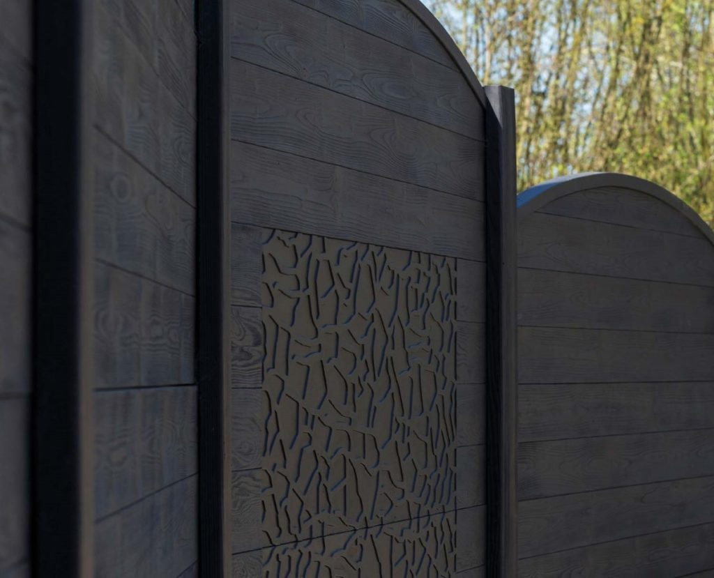 FG HABITAT PORTAIL NOIRMOUTIER EN L ILE Cloture Beton Plaque De Beton 83