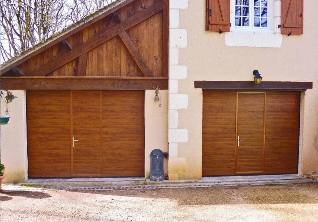 FG HABITAT PORTAIL NOIRMOUTIER EN L ILE Garage Chene Rainure 89